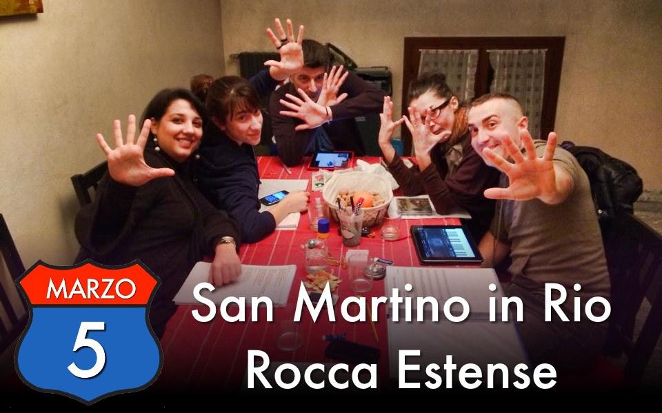 5 Marzo 2014: Veravox A/R a San Martino in Rio